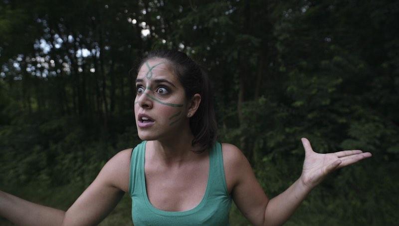 Roberta Nicosia in una scena del film