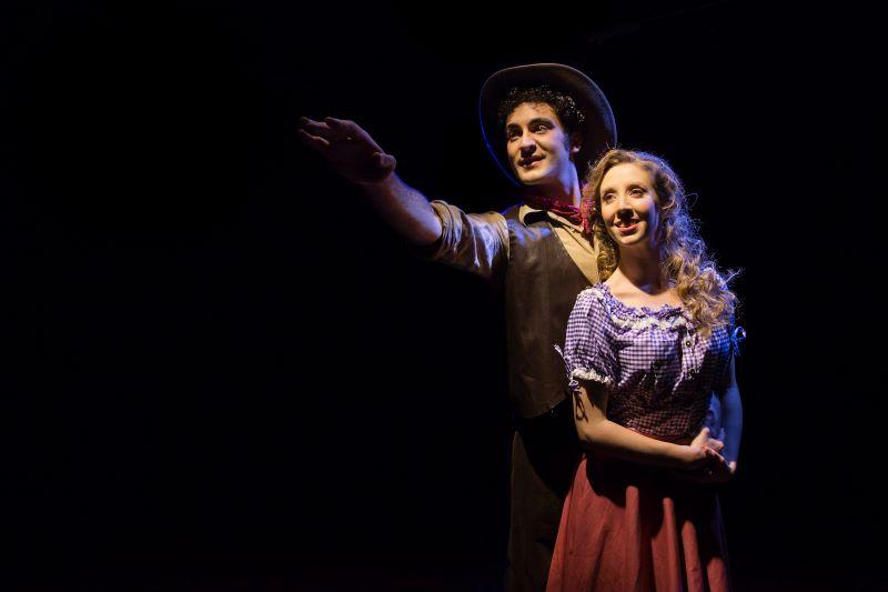 Bernstein Sara Spagna e Nicola Monterumisi, Oklahoma! Photo by Giulia Marangoni