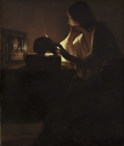 Georges de La Tour Maddalena penitente, National Gallery of Art Washington D.C.