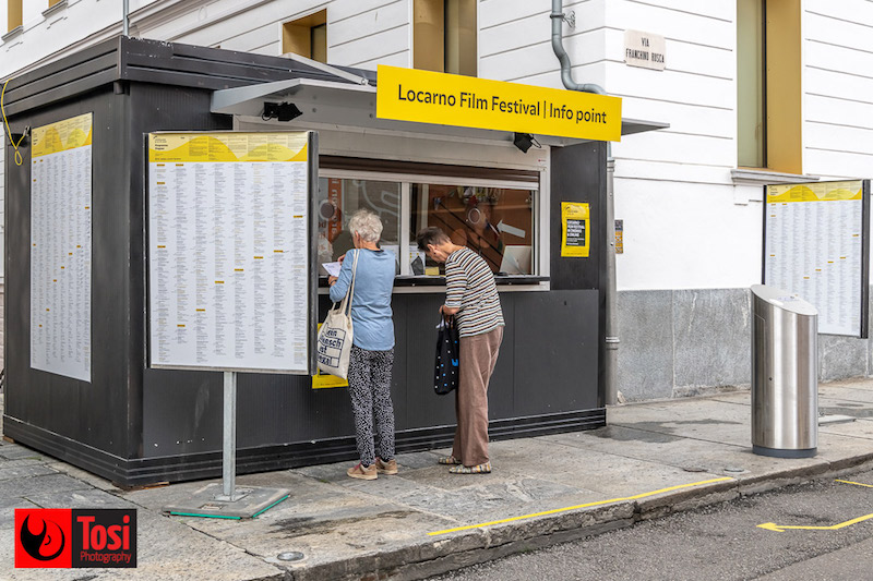 Locarno 2020 - Info point © Tosi Photography