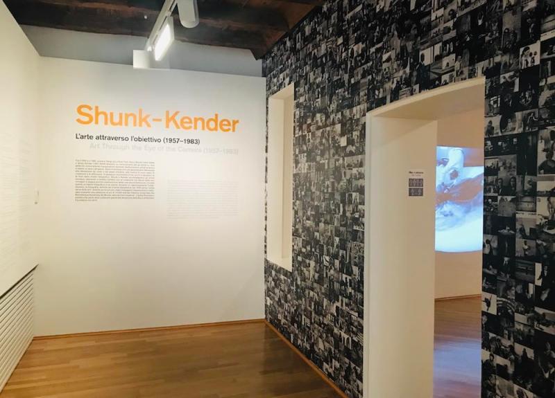 Shunk-Kender ingresso mostra. Ph by MaSeDomani