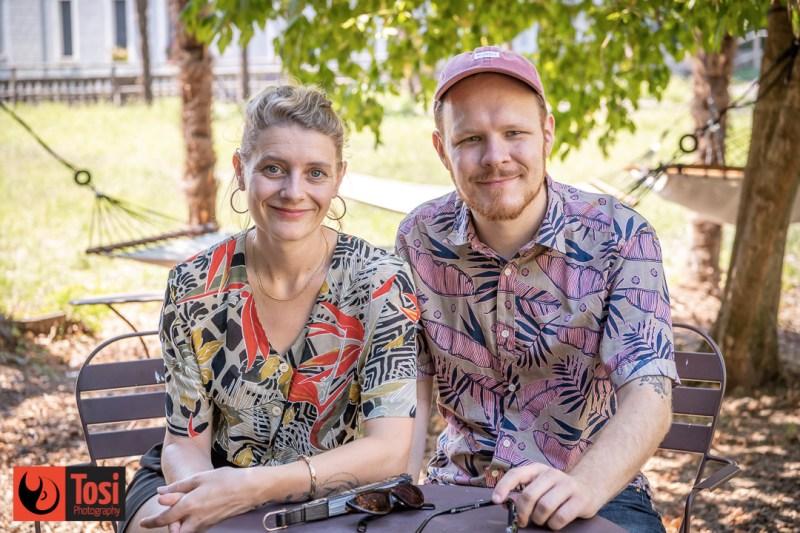 La produttrice Nicole Boner insieme al regista Jonas Ulrich © Tosi Photography
