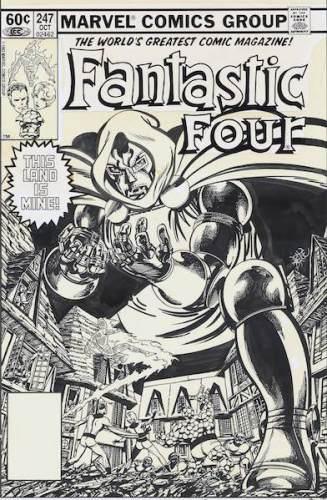 In mostra anche Il Dottor Destino contro i Fantastici Quattro secondo John Byrne. Photo: press office.