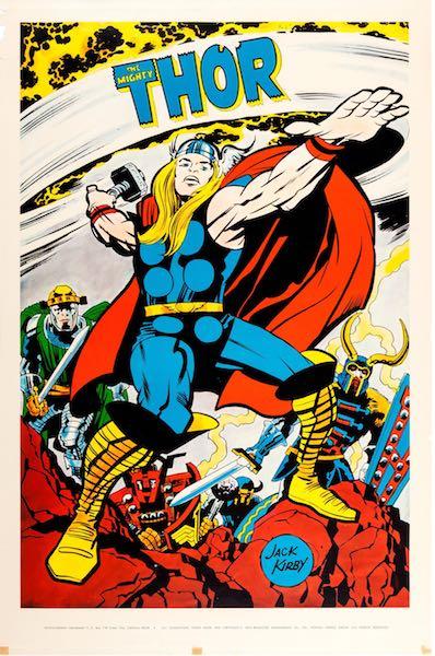 poster americano prodotto da Marvelmania nel 1970. Photo: press office.