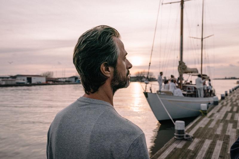 Kim Rossi Stuart in una scena del film Cosa Sarà. Photo: Paolo Ciriello.
