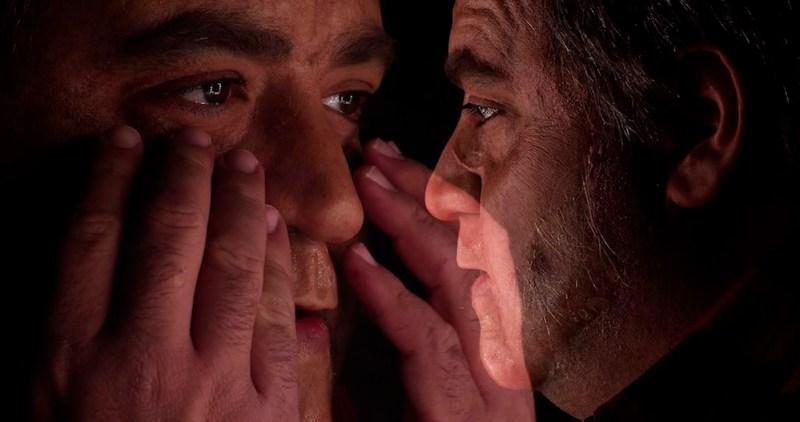 Nicola Nocella in una scena di Fulci For Fake. Photo: courtesy of Midnight Factory.