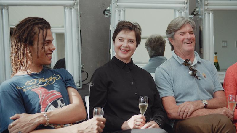 Robert Jr, Isabella e Robin Rossellini in una scena del film THE ROSSELLINIS - Photo courtesy: Nexo Digital