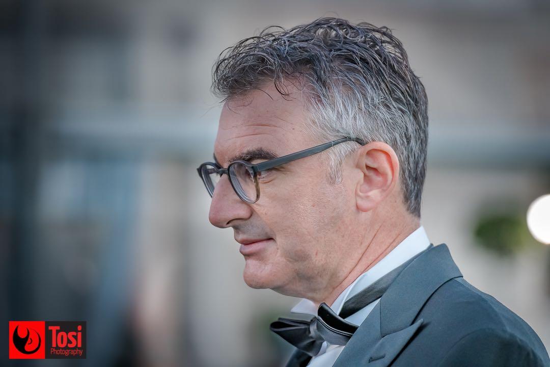 ZFF 2020 - il direttore artistico del festival durante l'ultimo green carpet © Tosi Photography