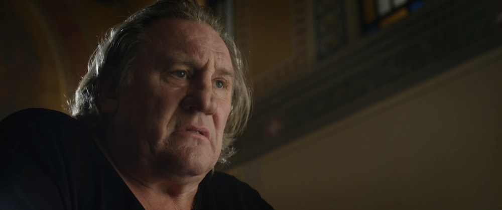 Gerard Depardieu nel film. Photo press office