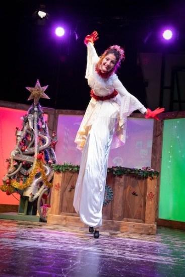 Alla scoperta di Babbo Natale. Valentina Conti è la Stella del Natale. Foto di Margherita Cirulli