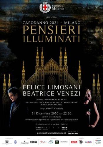 Pensieri lluminati Milano poster evento