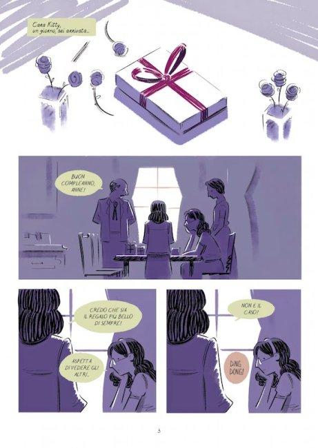 Il diario di Anne Frank. Courtesy of Star Comics Edizioni