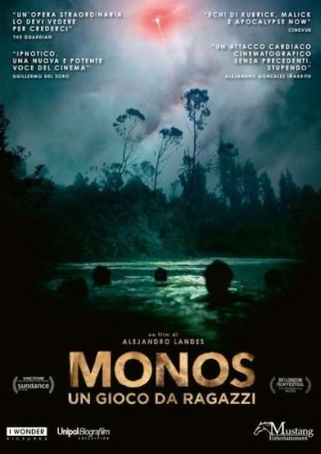 La locandina italiana del film MONOS.