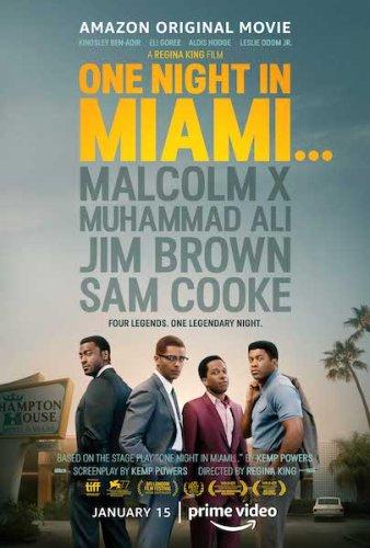 one night in miami poster film