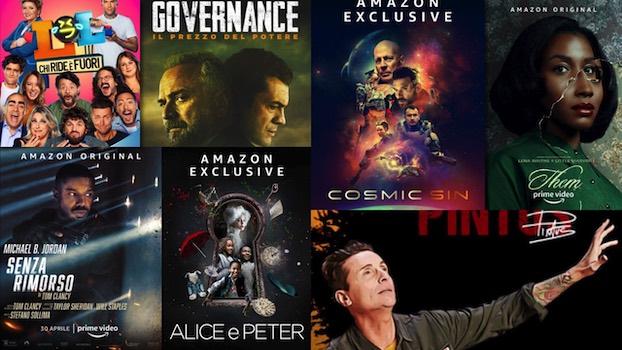 Amazon Prime Video novità di aprile
