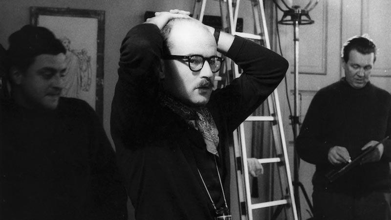 Il regista Volker Schlondorff. Photo: courtesy of Bergamo Film Meeting 2021