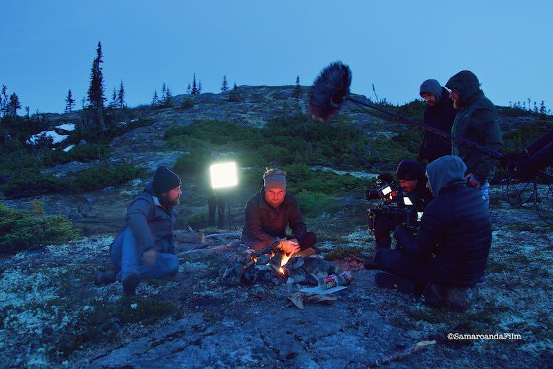 Un momento di Sogni di Grande Nord © SamarcandaFilm
