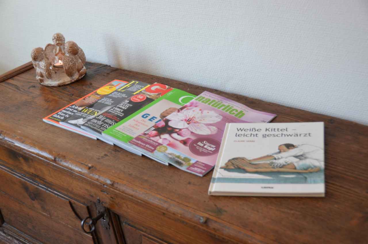 Wartezimmer - Magazine