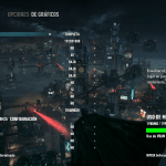 Batman: Arkham Knight corriendo en un Lenovo Y50 a 35-50 FPS
