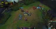 League of Legends en el MSI GE63VR 7RE Raider