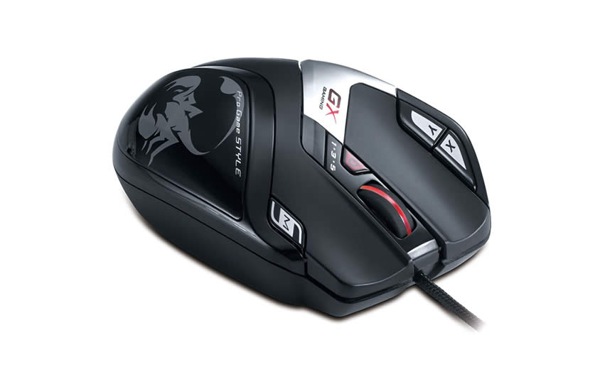 genius gx gaming deathtaker, un mouse gamer asequible
