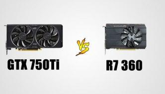 R7 360 vs GTX 750ti