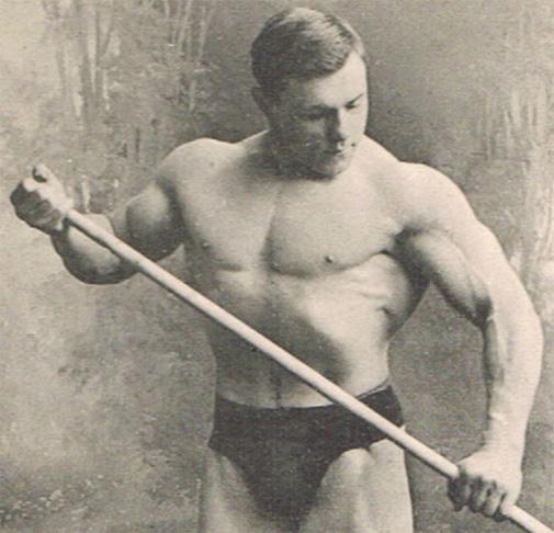 George Hackenschmidt-entrenamiento