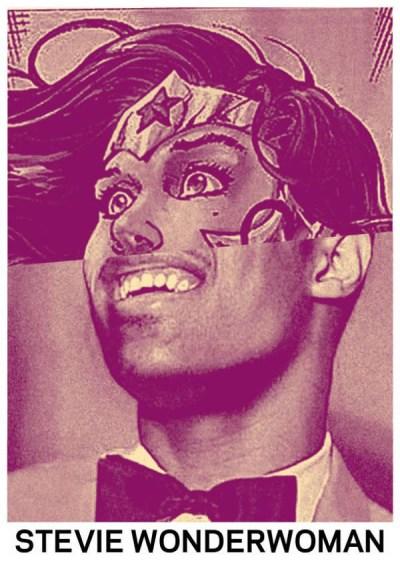 07 Celebrity Mash-ups - Stevie Wonderwoman
