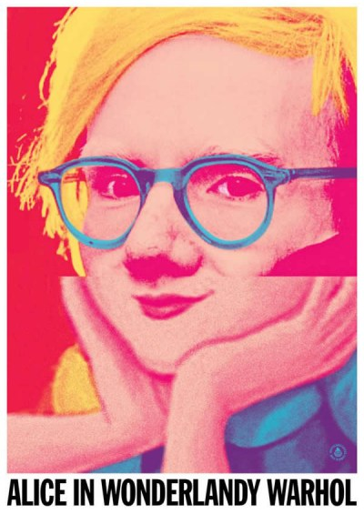19 Celebrity Mash-ups - Alice In Wonderlady Warhol