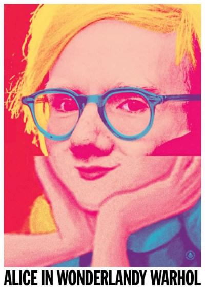 19 Celebrity Mash-ups - Alice In Wonderlady Warhol