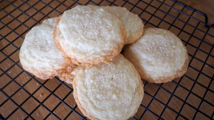 The Best 3 Ingredient Sugar Cookie Recipe