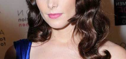 Ashley Greene Curly Retro Hairstyle