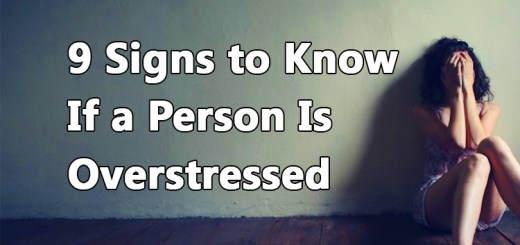 9 signs if a person is overstressed