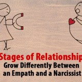 An empath and a narcissist