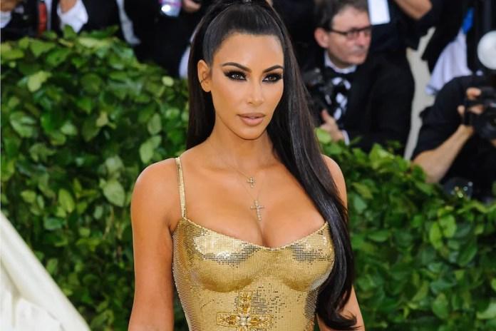 Kim Kardashian. 2018 Metropolitan Museum of Art Costume Institute Gala