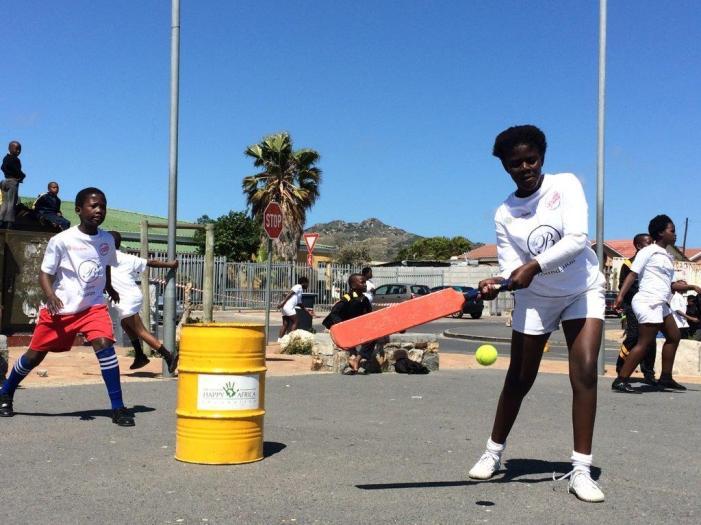 Girls cricket taking off