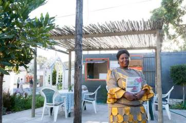 Nonny's Café and Bakery in Masiphulelele near Cape Town. A Masicorp business project
