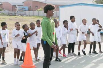 PT classes at Ukhanyo Primary School