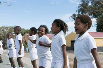 Ukhanyo School pupils love sport