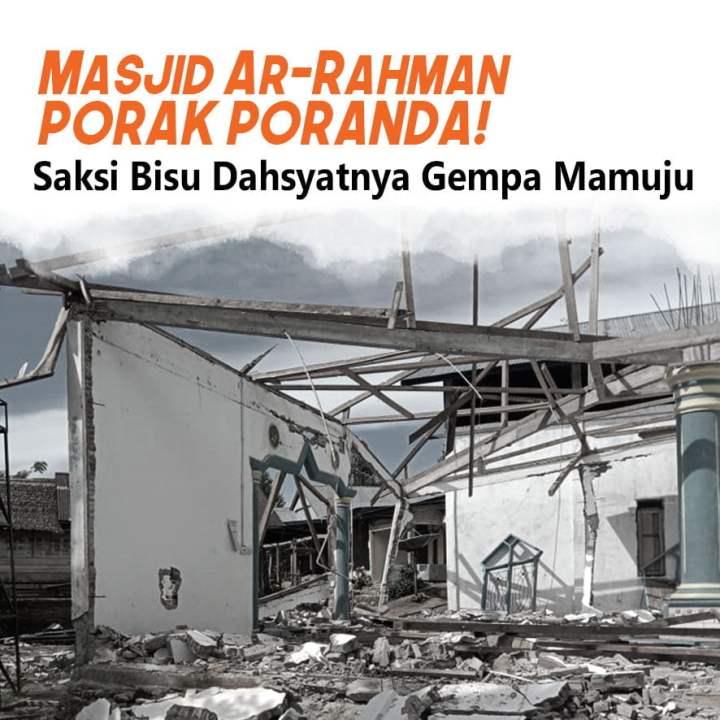 Bangun Kembali Masjid yang Hancur karena Gempa