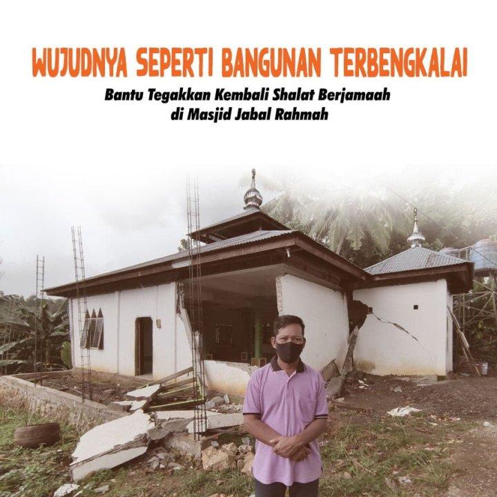Raih Pahala Paripurna, Bangun Masjid Rusak Terdampak Gempa