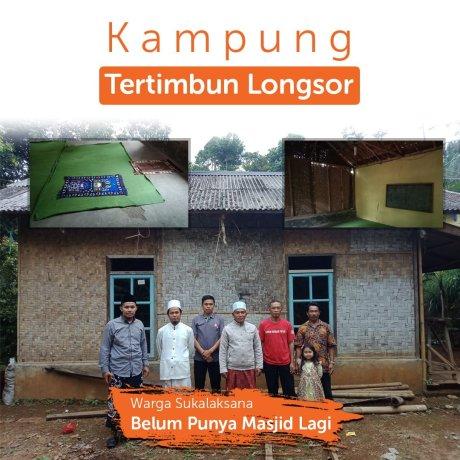 Masjid Baru untuk Korban Longsor Cimapag