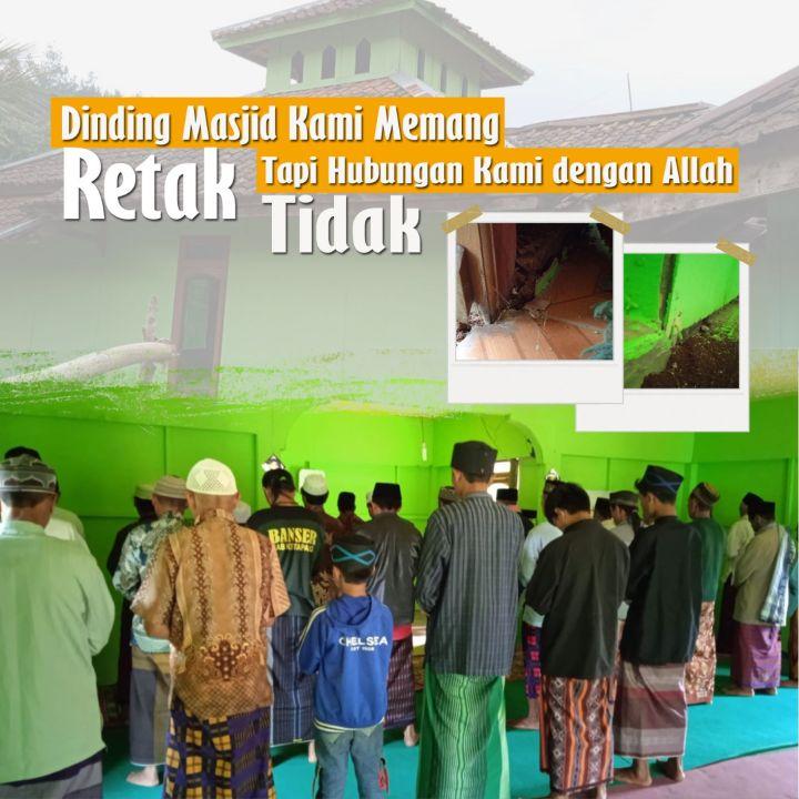 Selamatkan Masjid Kampung Loji dari Ambruk