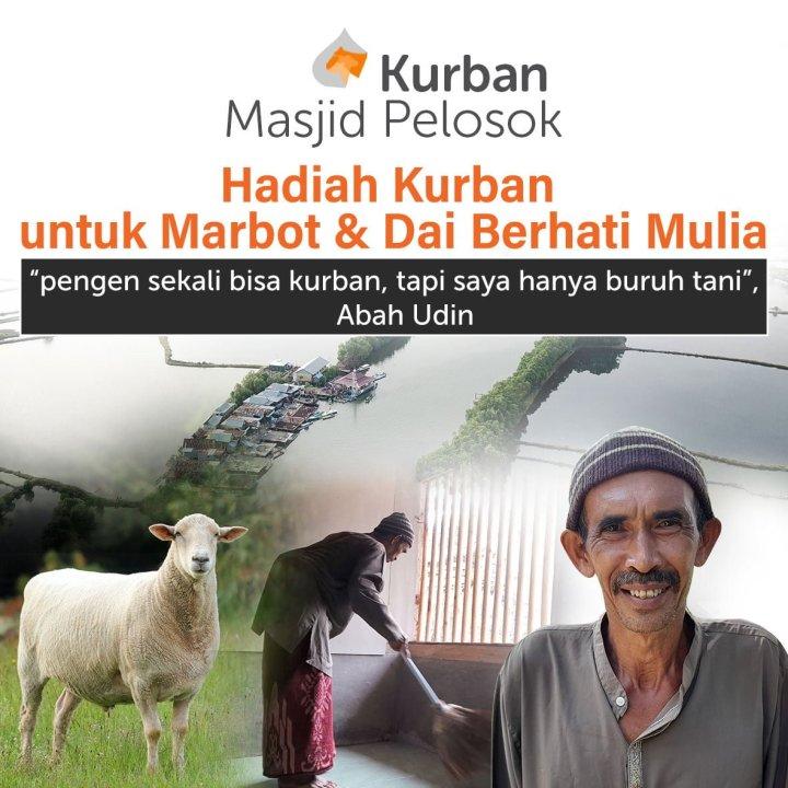 Wujudkan Harapan Marbot & Dai Prasejahtera Bisa Berkurban