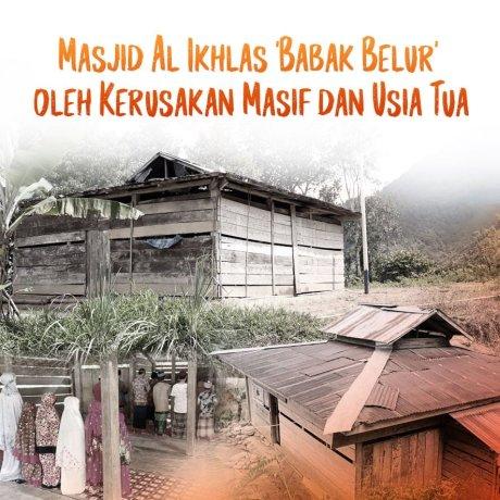 """Selamatkan Masjid """"Balai Bambu"""" di Polewali Mandar"""