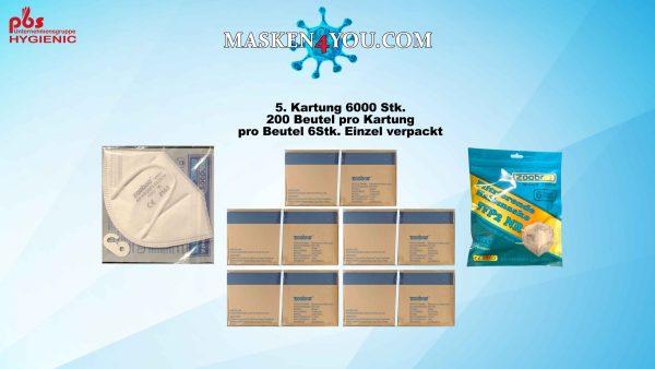 5 Kartung FFP2 ZOOBOG ZB008