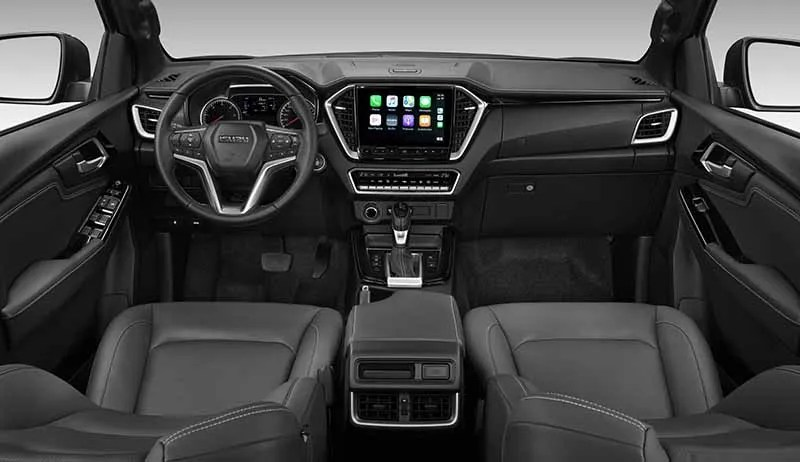 Interior Dash_LHD_RBE_Leather(Black)_4x4_AT_Auto AC_ADAS_Seat Heater