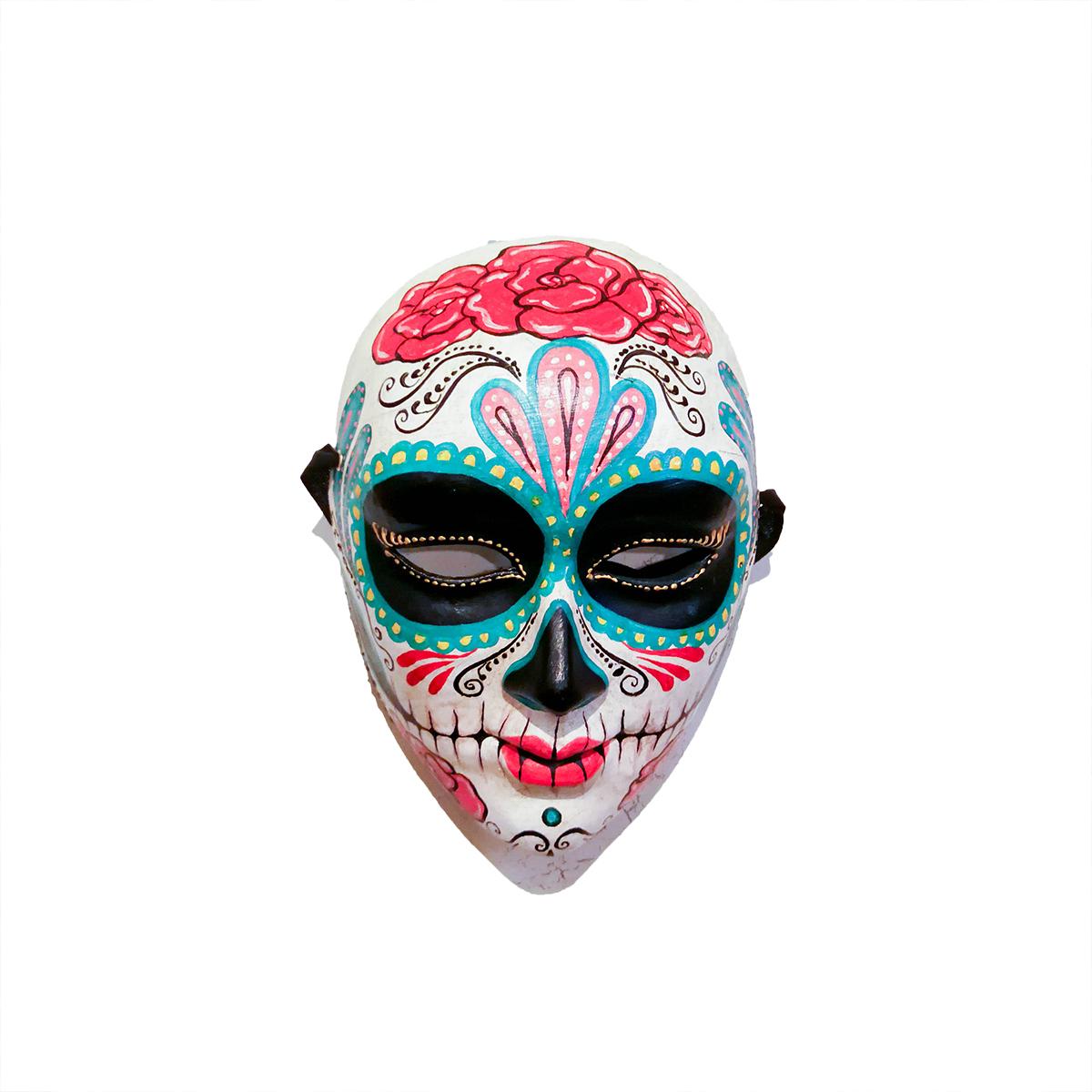 calavera catrina mask