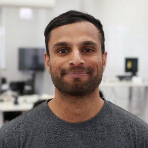 Headshot of nitin Fernandez, Co-founder and customer lead