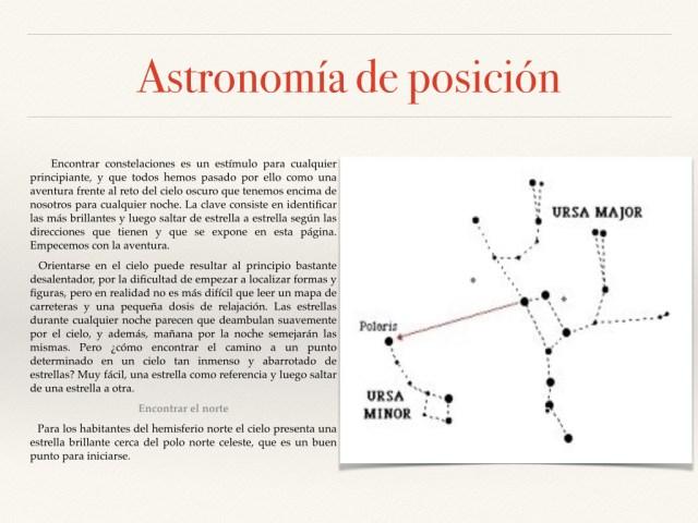 Astronomía de posición fotos.010
